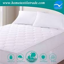 Dust Mite Crib Mattress Cover Baby Organic Waterproof Quilted Crib Mattress Pad Cover