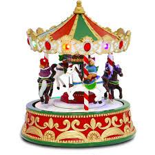 christmas carousel christmas carousel figurine walmart