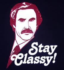 Classy Meme - girl code cheshirekatblog ron burgundy a k a jack with the red