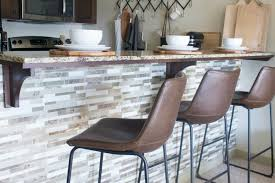 easy kitchen island how to create an easy kitchen island tile backsplash
