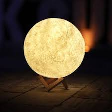 Moon Light Fixture Nerdy Lemon Luna Moonlight Lamp