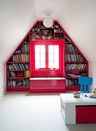 design your own home library bookshelves build your own house library attic roof sloping