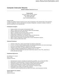 How To Fill Out Skills Section Of Resume Recreation Coordinator Resume Examples Alfred Coppard Tribute
