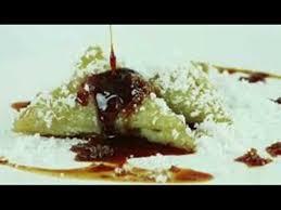 resep lopis resep dan cara membuat kue lupis segitiga ketan hijau yang enak