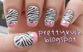 diy easy striped nails design how to paint with a striping brush
