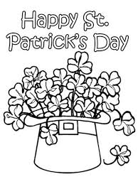 12 St Patrick S Day Printable Coloring Pages For Adults Kids Day Printable Coloring Pages