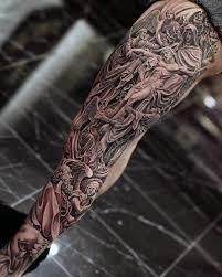60 catholic tattoos for religious design ideas sleeve