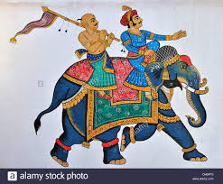 a maharaja and his servant riding on an elephant mural on a wall a maharaja and his servant riding on an elephant mural on a wall in dh5pt0 jpg 1300 1071 elephants pinterest udaipur