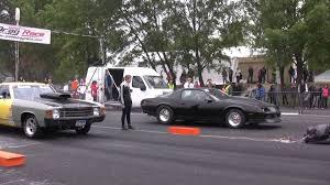 camaro el camino chevrolet el camino v8 vs chevrolet camaro 6 9 nitro drag race hd