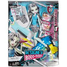 monster high designer booo tique frankie stein doll and fashions