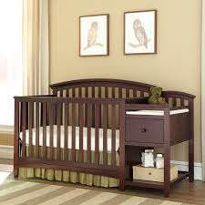 Changing Table And Crib Westwood Montville Crib Changing Table In Chocolate 310233980