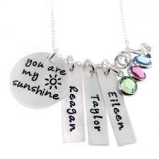 personalized necklace charms jc jewelry design personalized necklaces sted