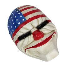 game payday 2 heist masks resin costume prop dress heist joker