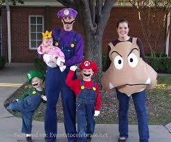 Super Mario Halloween Costume 25 Mario Character Costumes Ideas Super Mario