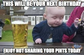 Cigarette Memes - drunk baby with cigarette meme generator imgflip