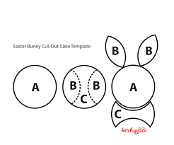 bunny cake the easiest cut out cake you u0027ll ever make