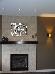 ideas impressive travertine tile over brick fireplace the old
