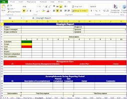 stoplight report template 12 excel project plan template exceltemplates exceltemplates