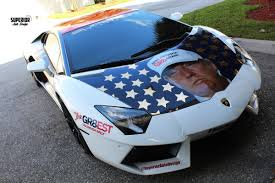 lamborghini limousine blue would you rather donald trump lamborghini or bernie sanders