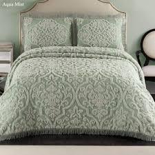 bedroom matelasse bedspreads with cool color and texture to any