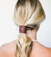 hair cuff small leather cuff metal hair pin women s accessories ca