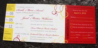 baseball wedding invitations yellow swirl baseball ticket wedding invitations emdotzee