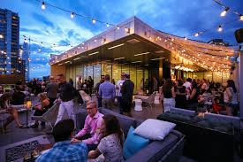 Fire Pits Denver by 54thirty Denver U0027s Highest Rooftop Bar Has Fire Pits To Keep
