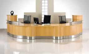 desk decor ideas furniture new office furniture reception desk decoration ideas