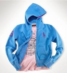 ralph lauren hats for women u0027s fleece big pony zip hoodie in blue