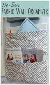 home sew catalog a box becomes no sew fabric wall organizer turn an empty or