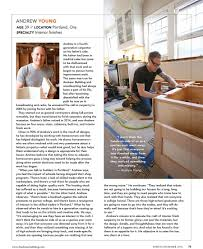 fine homebuilding magazine features andrew young young u0026 son