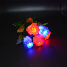 2017 led light up flower home decor mothers day
