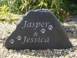 pet memorial stones dog memorial plaques garden garden pet memorials in slate york