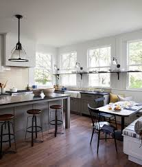 Modern Farmhouse Colors Gray Farmhouse Kitchen Paint Is Benjamin Moore Dolphin Af 175