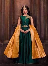 silk dresses islamic silk dresses online green islamic nikah wear silk