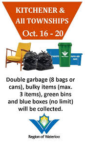 garbage collection kitchener wilmot township wilmottownship