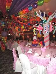 Candy Themed Centerpieces by Candy Theme Bat Mitzvah Innovative Party Planners Non Floral