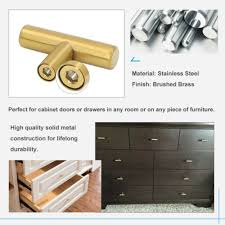 brass and black kitchen cabinet hardware home improvement gold kitchen cabinet knob handles brushed