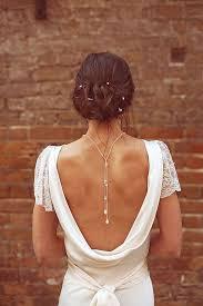 wedding backdrop necklace the backdrop necklace aka the backwards necklace for colorado brides