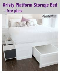 Diy King Platform Bed With Drawers by Diy King Platform Bed Started King Size Bed Frame Plans Platform