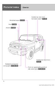 toyota fj cruiser 2013 1 g owners manual