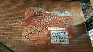 a look at wrigley bleacher artwork bleed cubbie blue al yellon