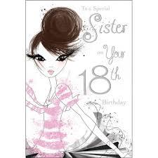 sister 18th birthday cards printable free templates invitations