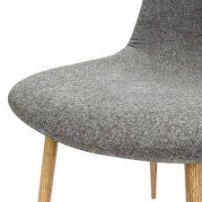 Esszimmerstuhl Hellgrau 4x Design Stuhl Mit Stoffbezug Hellgrau Esszimmerstühle Stühle