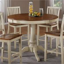 round bar height dining table foter