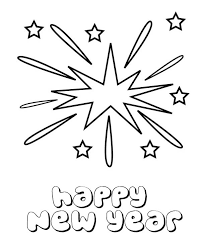fireworks coloring pages getcoloringpages