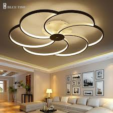 plafoniere a soffitto moderne prezzo di fabbrica soggiorno plafoniere a led in lega di alluminio