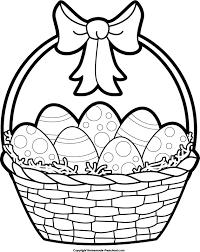 blank easter baskets blank easter basket clipart clip library