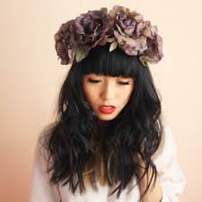 big flower headbands diy beauty floral headbands anon magazine