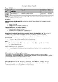 Sample Project Summary Template Project Summary Document Template by Checklists Weekly Project Status Report Sample Google Search